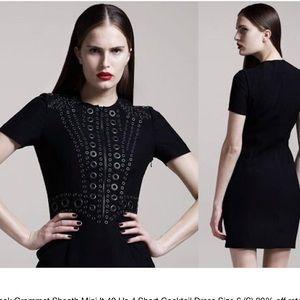 GIVENCHY Black Grommet cocktail dress size 38 XS
